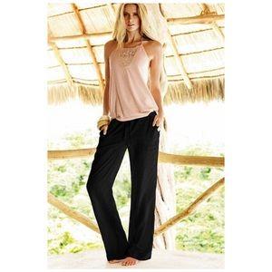 Black Linen Pants Size Small